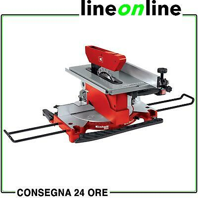 Troncatrice legno Einhell TH-MS 2112T lama 210mm – 1200W piano superiore 4300317