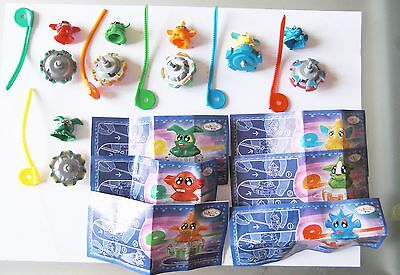 Kinder Game Alieni Serie Completa Con Cartine