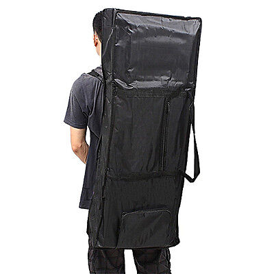 61 Key Keyboard Electric Piano Organ Padded Gig Bag Carry Case Cover Backpack