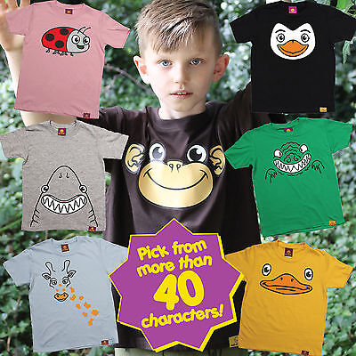 Ani Mates Animals Kids T-SHIRT birthday gift Party Filler Funny birthday gift