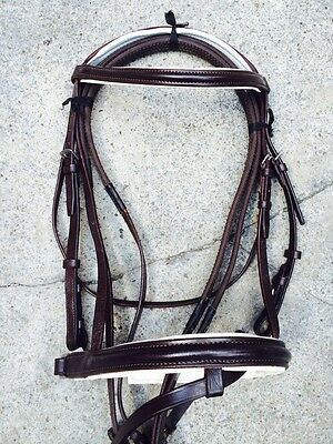New Padded Comfort Bridle with Rubber grip Reins Crank Noseband XFULL to Shetty