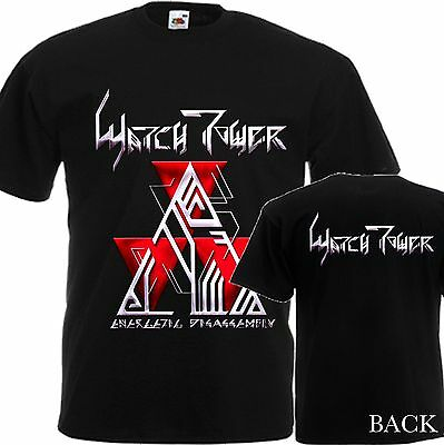 a0f7cc110 New T-Shirt ''Energetic Disassembly-Metal Band Watchtower''dtg Printed