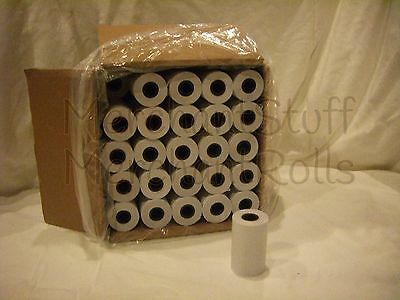 2 1/4 x 50 100 BPA FREE Thermal Paper Rolls for the FD410 wireless terminal