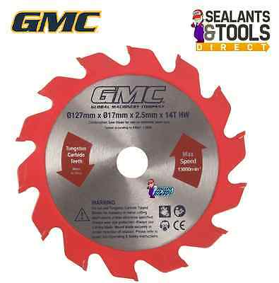 GMC 860W Laminate Flooring Saw Floor boards Skirting - Spare 125mm Blade