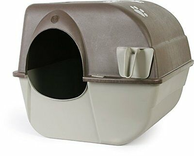 Omega Paw Rolln Clean Self Cleaning Litter Box Large Pet Supplies Self Cleaning