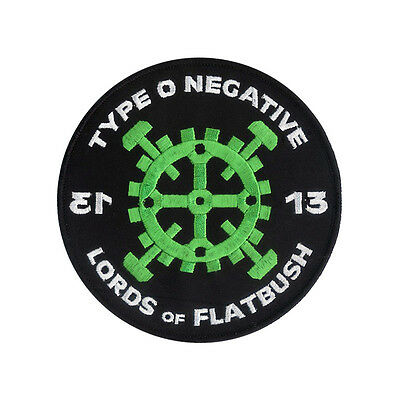 """Lords of Flatbush Embroidered Patch - Type O Negative - 4 3/4"""" embroidered patch"""