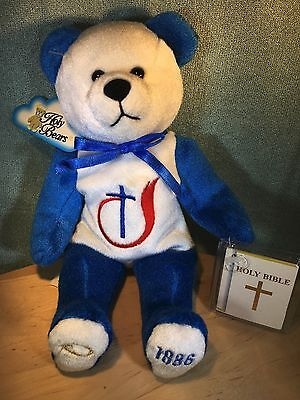 Collectible - NWT 2002 Holy Bears Church of God 1886 3 Tags