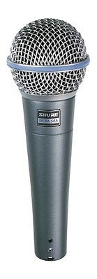 Shure Beta 58 Super Cardioid Dynamic Vocal Microphone, Brand New
