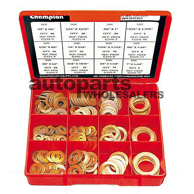 CHAMPION COPPER WASHERS IMPERIAL ASSORTMENT KIT (260 Pieces)