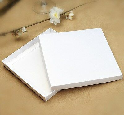 25 x White Square Invitation Box - 160 x 160mm Semi Gloss