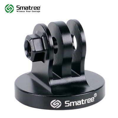 Smatree Black Aluminum Tripod Mount Adapter For GoPro Hero4 3+ 3 2 1 Cameras