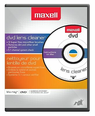 Maxell 190059 Dvd Lens Cleaner,No 190059,  Maxell