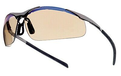 Bolle Contour ESP METAL Frame Safety Glasses & pouch