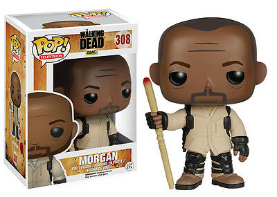 MORGAN Walking Dead Season 5 Funko POP! Figur 10cm OVP