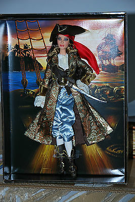The Pirate Barbie Doll, More Fantasy Dolls Collection, Mattel # K7972 2007, Nrfb