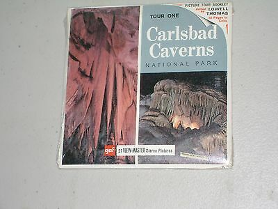 View-Master Reels- 3 Reel Packet –Carlsbad Caverns National Park New Mexico Seal
