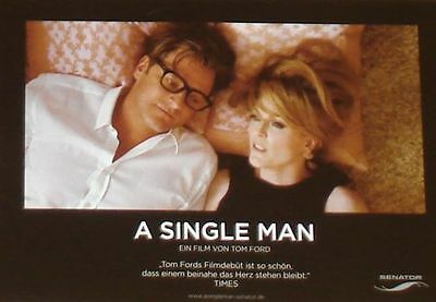 A SINGLE MAN - Lobby Cards Set - Colin Firth, Julianne Moore, Tom Ford