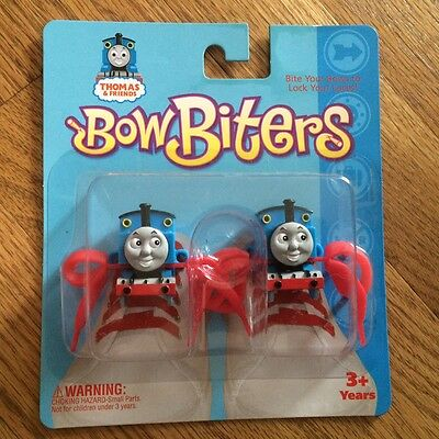 "Thomas Bow Biters ""Bite Your Bows to Lock Your Laces!"" Keeps shoelaces tied!"