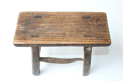 Antique Chinese Wood Stool