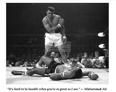Muhammad Ali Famous Quote From Boxing Legend - 11X14 Photo (Pq-005)