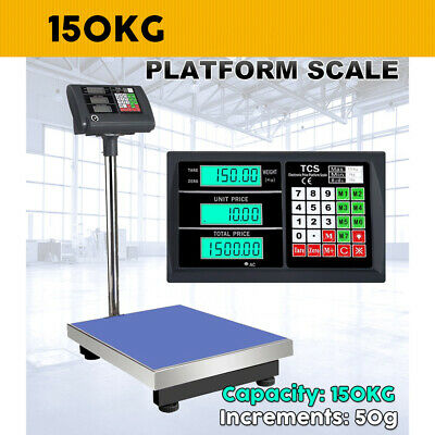 150kg Electronic Computing Digital Platform Scales Postal Shop Scale Weight