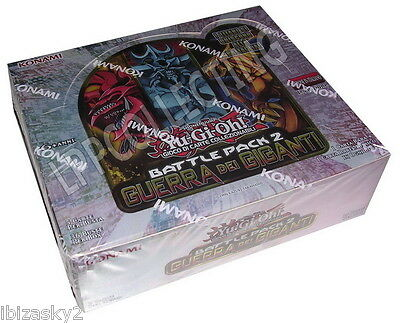 YUGIOH: BOX 36 BUSTINE BATTLE PACK 2 (BP02) in ITALIANO (DIVINITA' EGIZIE)