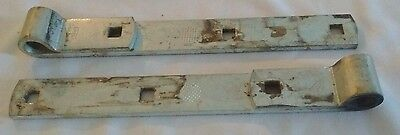 Set of Two Steel Barn Gate Door Latch Hinge Eyelet National Brand
