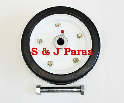 """King Kutter Replacement Finish Mower Wheel - Fits 3/4"""" Axle (Bolt Incl)  502020"""