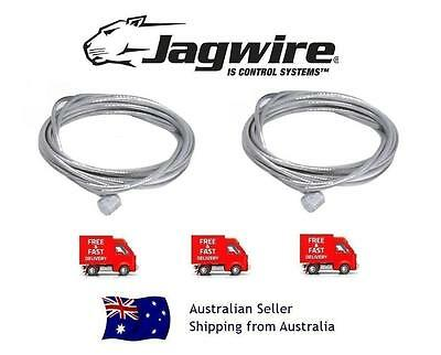 Jagwire Stainless MTB or BMX inner Brake Cables for Shimano Sram (PAIR)