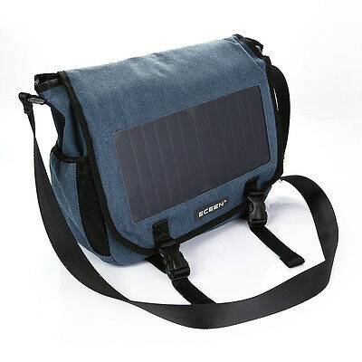 Solar Power Sports Satchel Bag Power Bank For Smartphone Outdoor Hiking