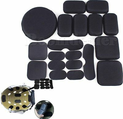 Memory EVA Foam Pad Cushion Sticker For Tactical Airsoft Military Helmet Outdoor