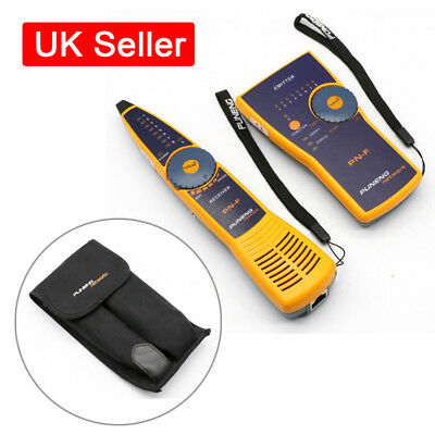 PN-F Wire Network Tracker Toner Probe Cable Tester Finder Fluke Style+9V Battery