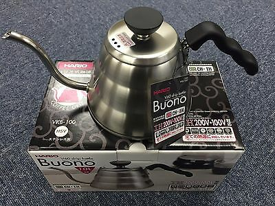 Hario V60 Buono Coffee Drip Kettle 1,000ml VKB-100HSV VKB-100 MADE IN JAPAN