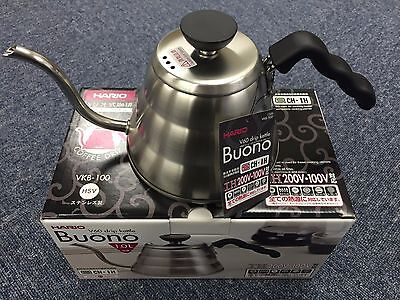 New Hario V60 Buono Coffee Drip Kettle 1,000ml VKB-100HSV VKB-100 MADE IN JAPAN