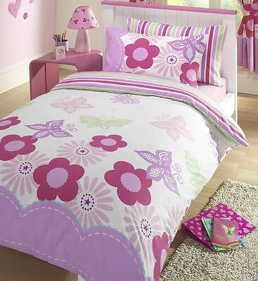Sunny Days Butterflies and Flowers Children's Bedding Curtains Lighting
