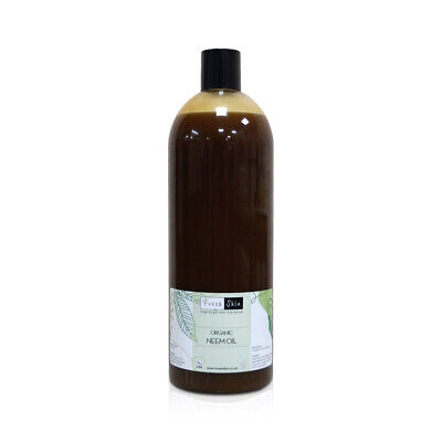 1000ml Organic Neem Oil - 100% Pure - Natural insecticide 1 litre size