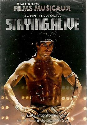 "DVD ""STAYING ALIVE"" JOHN TRAVOLTA    neuf sous blister"