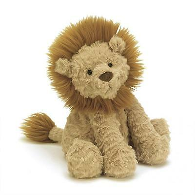 NEW Jellycat Fuddlewuddle Lion Medium 23cm Toffee Brown Plush Soft toy
