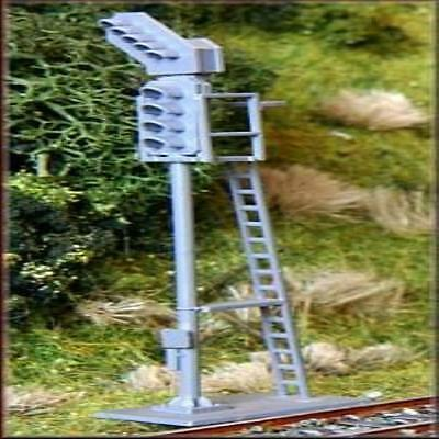 Knightwing Model Railway Colour Light Signals 4 Aspect W/ Route Indicator (Cont