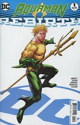 AQUAMAN REBIRTH ISSUE 1 - FIRST 1st PRINT RYAN BENJAMIN VARIANT