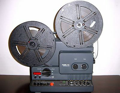 Bauer T 600 STEREOSOUND Super 8mm  MOVIE PROJECTOR