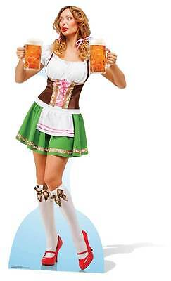 Oktoberfest Beer Festival Babe Lifesize Cardboard Cutout / Standee/ Stand Up