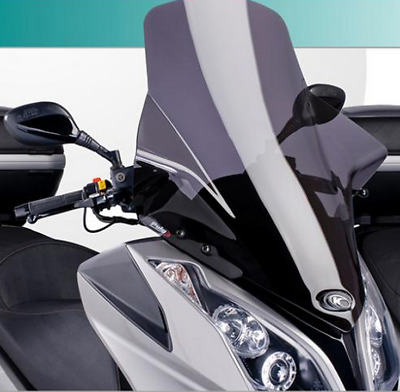 Kymco Downtown 200 Tinted Touring Windshield New DTFPTT