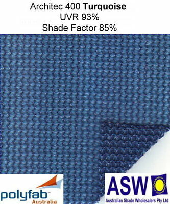3.8m wide COMMERCIAL SHADECLOTH Polyfab ARCHITEC Architectural Shade Cloth 400gm
