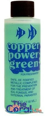 Copper Power 16Oz Green Freshwater Copper Medication Treatment For Fish