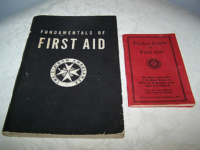 Vintage Medical First Edition 1955 The St. John Ambulance First Aid Book + Other