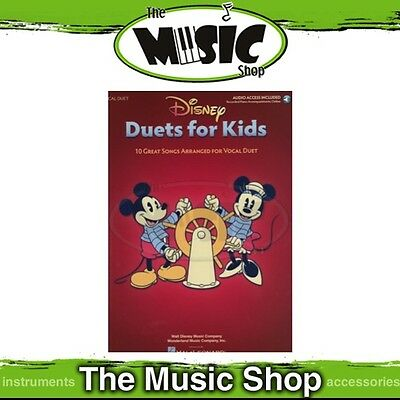 New Disney Duets for Kids Music Book with OLA - Children's Vocal Songbook