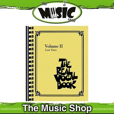 New The Real Vocal Book: Volume 2 for Low Voice Music Book