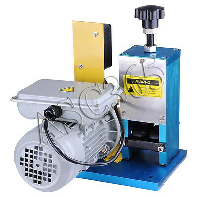 110VAutomatic Cable Stripper Tool Powered Electric Copper Wire Stripping Machine