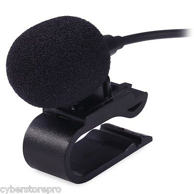 3.5mm External Microphone for Car DVD Radio Laptop Stereo Player HeadUnit Cable